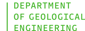 Department of Geological Engineering