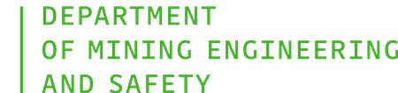 Department of Mining Engineering and Safety