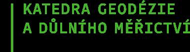 Katedra geodézie a důlního měřictví