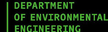 Department of Environmental Engineering